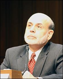 Former Fed Chair Ben Bernanke