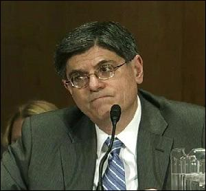 Jack Lew Testifying at His Confirmation Hearing, February 13, 2013