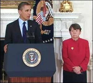 President Obama Nominating Mary Jo White for Chair of the Securities and Exchange Commission, January 24, 2013