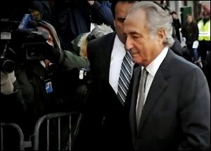 Bernard Madoff Outside Federal Court in Manhattan in 2008