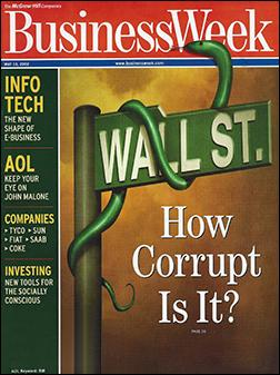 Wall Street - how corrupt is it?