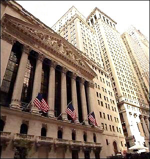 If the new york stock exchange is a