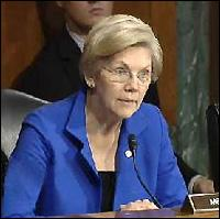 Senator Elizabeth Warren Questioning Janet Yellen During Senate Hearing on July 15, 2014
