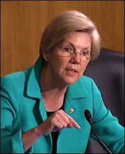 Senator Elizabeth Warren During a July 8, 2014 Senate Hearing