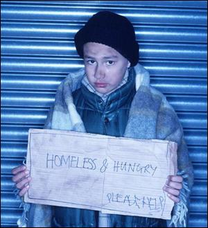 Homeless Child Photo