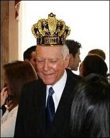 Does Senator Orrin Hatch Believe He Wears a Crown?