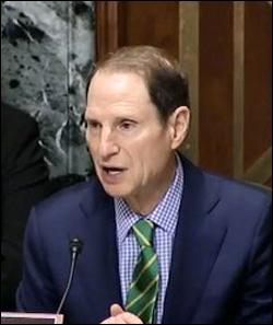 Senator Ron Wyden, Chair of Senate Finance Committee Taking Testimony on Retirement Plans for Americans