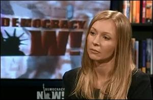 Alayne Fleischmann, Appearing on DemocracyNow! to Discuss Her Allegations Against JPMorgan Chase