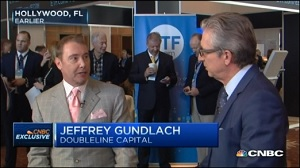 Jeffrey Gundlach, DoubleLine CEO,  Tells CNBC's Bob Pisani What He Think the Fed's Really Up To With Its Interest Rate Talk