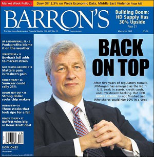 Barron's Cover Story on JPMorgan Rising