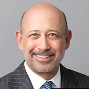 Lloyd Blankfein, Chairman and CEO of Goldman Sachs