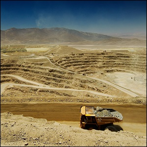 Glencore's Lomas Bayas Copper Mine in Chile