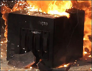Datto Shows the Indestructibility of Its Backup System by Subjecting It to Thermite