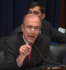 Congressman Scott Garrett Assails FSOC Members for their Secrecy