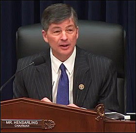 Jeb Hensarling, Chair of the House Financial Services Committee, at FSOC Hearing, December 8, 2015