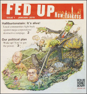 Fed Up New Yorkers (First Issue Cover)