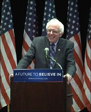 Presidential Candidate, Senator Bernie Sanders, Delivers a Major Policy Speech on Reforming Wall Street on January 5, 2016