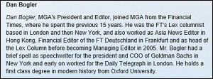 Dan Bogler Bio at Medley Global Advisors