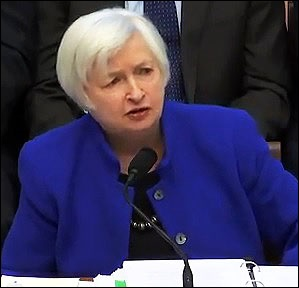 Fed Chair Janet Yellen Testifying at the February 10, 2016 House Hearing