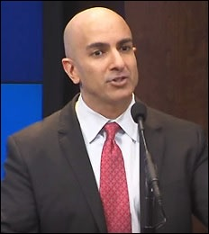 Neel Kashkari, President of the Minneapolis Fed, Speaking at the Brookings Institution in Washington, D.C.