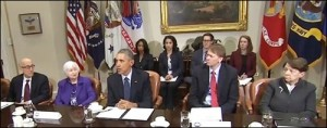 President Obama Calls Surprise Meeting With Financial Stability Oversight Council Members