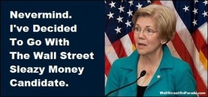 Elizabeth Warren Goes With Sleazy Wall Street Money Candidate