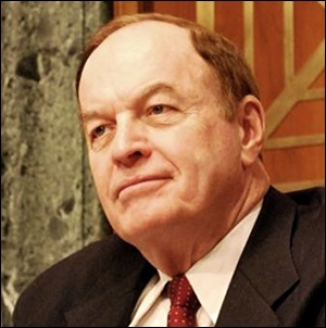 Senator Richard Shelby, Chair of the Senate Banking Committee