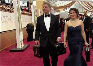 Brian Cullinan and Martha Ruiz, PwC Partners In Charge of Oscar Envelopes