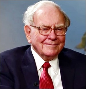 Warren Buffett, CEO, Berkshire Hathaway
