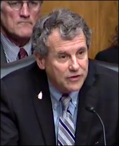 Senator Sherrod Brown Demands Answers from Treasury Secretary Steven Mnuchin at Senate Hearing, May 18, 2017