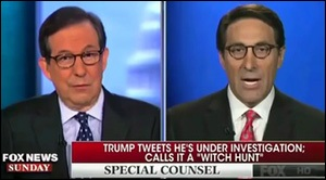 Trump's Lawyer, Jay Sekulow, Appears on Fox News Sunday with Chris Wallace