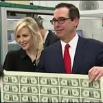 Actress Louise Linton and Husband, U.S. Treasury Secretary Steve Mnuchin