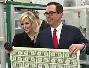 Actress Louise Linton and Husband, U.S. Treasury Secretary Steve Mnuchin