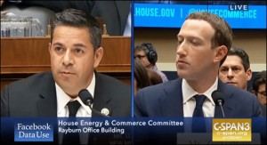 Congressman Ben Jay Lujan Questions Mark Zuckerberg at House Hearing on April 11, 2018