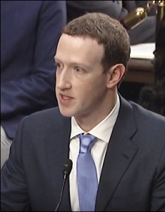 Mark Zuckerberg Appears Before a Joint Senate Committee on April 10, 2018