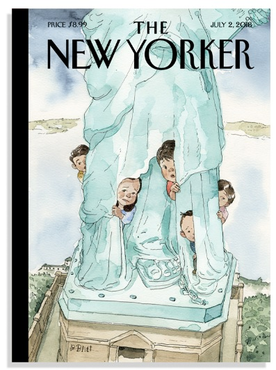 New Yorker Magazine Cover, July 2, 2018 Edition