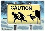 One of Numerous Trump Cartoons by Rob Rogers that Were__ Censored by His Newspaper-iii