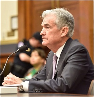 Federal Reserve Chairman Jerome Powell Gives Testimony Before the House Financial Services Committee on February 27, 2018