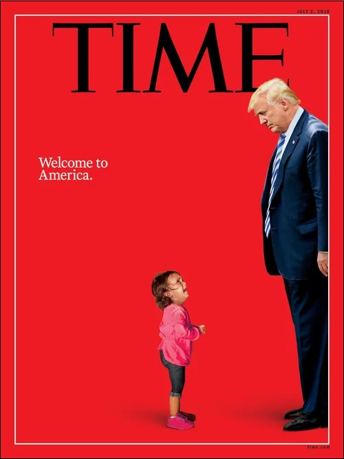 Time Magazine Cover, July 2, 2018 Edition