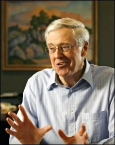 Charles Koch, Forbes Puts His Net Worth at $51 Billion