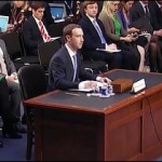 Facebook CEO Mark Zuckerberg Testifies Before Congress on April 10, 2018 on His Company's Technology Failings