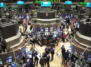 New York Stock Exchange Trading Floor