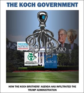 Public Citizen Report on Koch Allies in White House and Federal Agencies