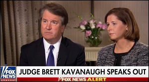 Brett Kavanaugh and His Wife, Ashley, on Fox News, September 24, 2018
