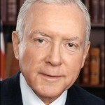 Senator Orrin G. Hatch (R-UT). (Courtesy Senator's Office)