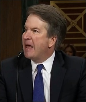 An Angry and Belligerent Brett Kavanaugh Testifies Before the Senate Judiciary Committee on September 27, 2018