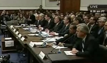 Wall Street Bank CEOs Are Grilled at House Hearing, February 11, 2009