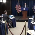 Jerome (Jay) Powell, Chairman of the Federal Reserve Board of Governors, Speaks at a Press Conference Following FOMC Announcement on March 20, 2019
