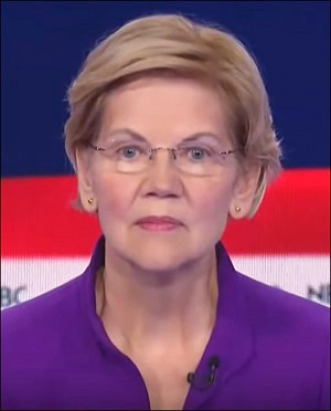 Senator Elizabeth Warren at Democratic Debate, June 26, 2019