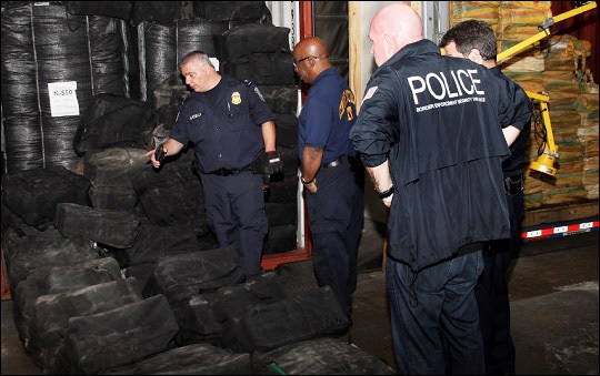 U.S. Customs and Border Protection Seize 20 Tons of Cocaine Found on a Container Ship Owned by Wall Street Mega Bank, JPMorgan Chase